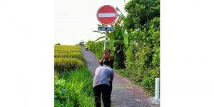 Canggu-Pererenan shortcut will be closed at night.